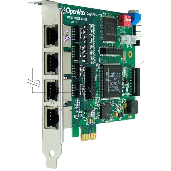 کارت دیجیتال D410 - D410 4-E1 Digital PCI Express Card