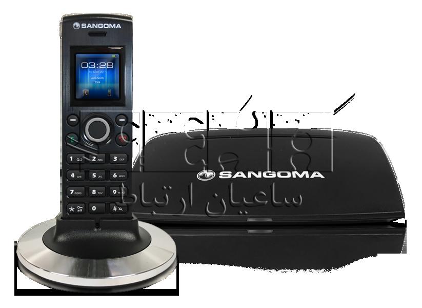 تلفن بی سیم DC201 IP Phone - Sangoma DC201