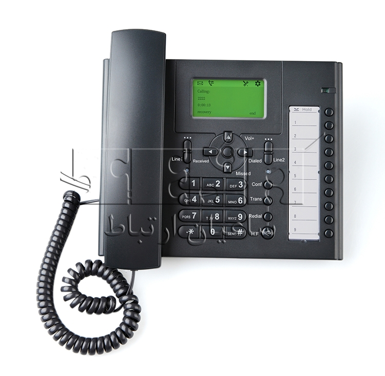 تلفن ساده US102-YN IP Phone - Front view