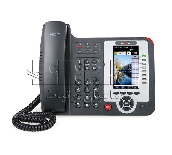 تلفن پیشرفته ES620-PEN IP Phone - Front view