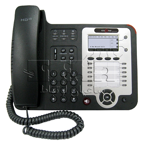 تلفن پیشرفته ES320-N IP Phone - Front view