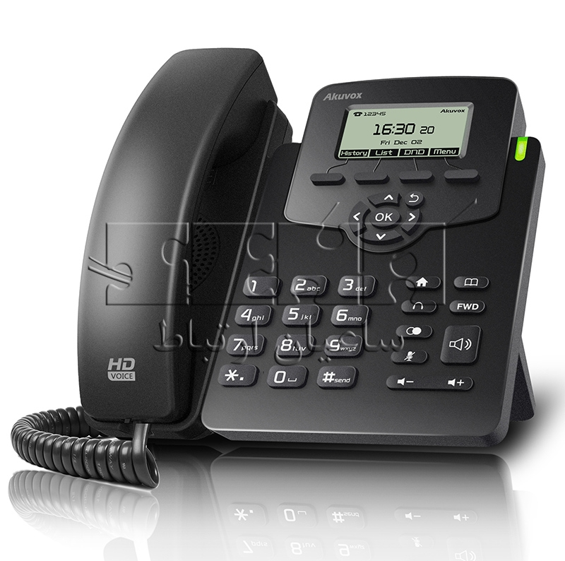 تلفن IP کارشناسی SP-R50P - آکووکس Akuvox SP-R50P IP Phone
