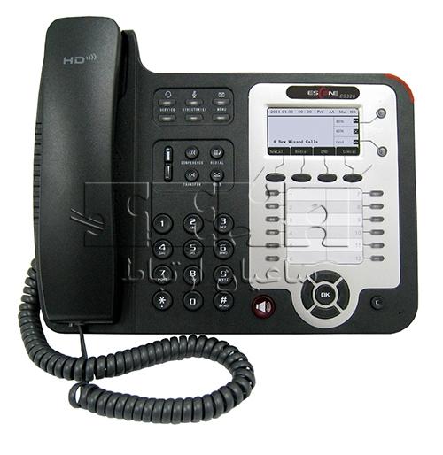 تلفن پیشرفته ES320-PN IP Phone - Front view