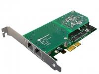 کارت دیجیتال A102 E1 - PRI - کارت Sangoma Dual E1 PCI-Express card