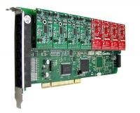 کارت آنالوگ A800 - 8Ports FXO/FXS PCI Express card