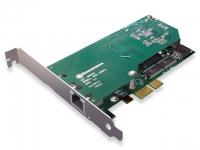 کارت دیجیتال A101 E1 - PRI - Sangoma single E1 card PCI Express