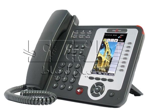 ES620-PEN IP Phone - Front-side view