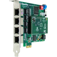 کارت دیجیتال D410 - D410 4-E1 Digital PCI Card with Echo Canceller