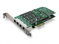 کارت دیجیتال A104 E1 - PRI - 4E1 PCI-Express card