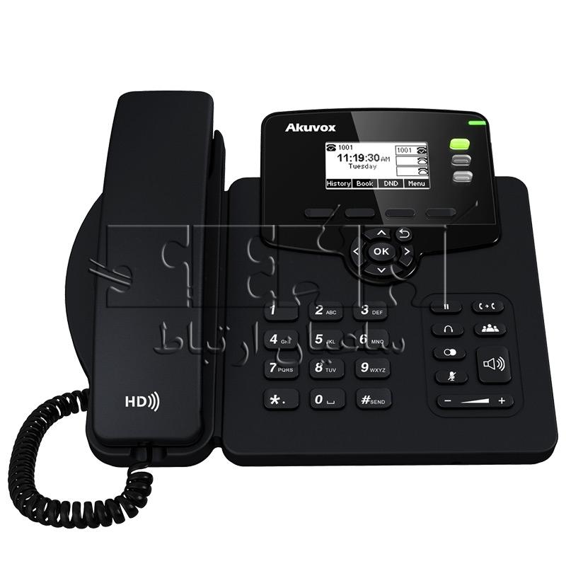 تلفن IP کارشناسی SP-R55G - تلفن IP کارشناسی SP-R55G
