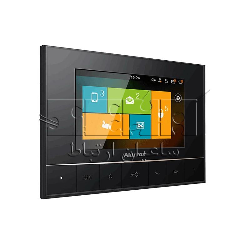مانیتور هوشمند تحت شبکه - IT80 - akuvox-IT80-3