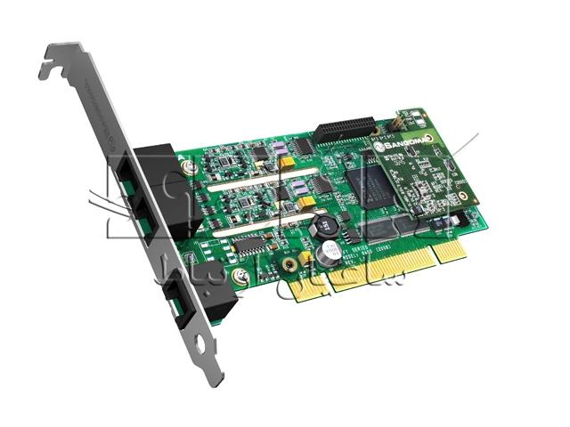 کارت آنالوگ ویپ FXO - FXS B600 - 4FXO & 1FXS PCI card