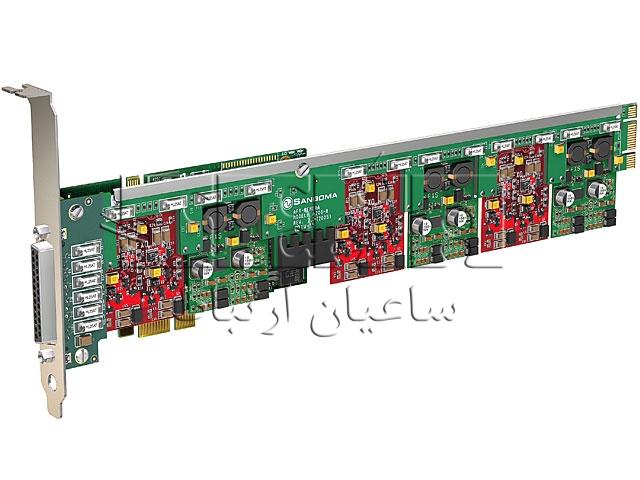 کارت آنالوگ ویپ FXO - FXS A400 - کارت تلفنی سنگوما A400, A400D